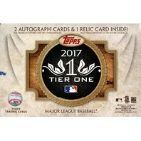 26 Spot 2017 Tier One Baseball Random Letter Break - TBD when it sells out