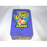 1994 Smoking Joe's Racing Tin w/ 50 Matchbooks NASCAR Joe Camel Matches