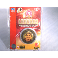 JOE THEISMANN Washington Redskins Legends 2007 Collectible Medallion Coin