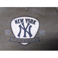 Wright & Ditson New York Yankees Dark Gray Long Sleeve T-Shirt Sz L MLB Baseball