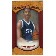 JAMES WORTHY 2014 Upper Deck Goodwin Champions 8/14 Mini Foil Magician Red #121