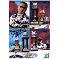 MARK MARTIN 1995 MAXX Jumbo Card Watkins Glen Special Edition Autograph Auto #'d