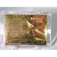MAXX Race Card 1995 Bill Elliott 22K Gold NASCAR Batman Batmetal /1500 COA