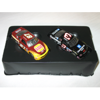 Vtg MATCHBOX COLLECTIBLES #3 Dale Earnhardt & #87 Joe Nemechek NASCAR 1995 COA