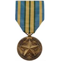 Vanguard Full Size Outstanding Volunteer Service Military Medal Award