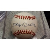 Mickey Mantle Signed Bobbie Brown Baseball Upper Deck UDA/UDO 16854 Auto