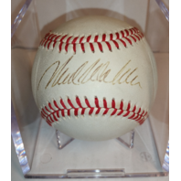 Mark Wohlers Autographed William White Major League Baseball