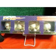 Sealed Hamelin Floyd Justice Delgado Pro Signatures 4 Ball Auto Pack w/ COA