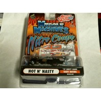 Muscle Machines Nitro Coupe Hot N Nasty '37 Chevy Coupe Gary Irving NC03-09