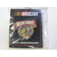1998 NASCAR 50th Anniversary NASCAR COUNTRY Lapel Tack Pin NOS NIP