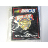 1998 NASCAR 50th Anniversary NASCAR LEGENDS Lapel Tack Pin NOS NIP