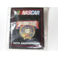 1998 NASCAR 50th Anniversary Lapel Tack Pin NOS NIP