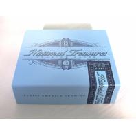 2017 Panini National Treasures NT Baseball Trading Cards Empty Cedar Cigar Box