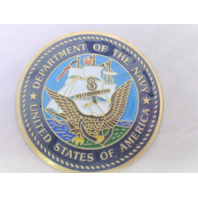 "US Navy USN Emblem 2"" For Shadow Boxes Medallion"