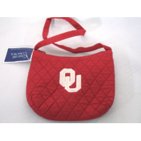 2 Collegiate Collection Oklahoma University Sooners Red Tote Purse Bag NWT