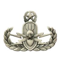 Vanguard Navy Enlisted Master Explosive Ordnance Disposal Designation Pin