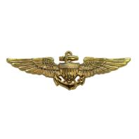 Vanguard Navy Regulation Size Aviator Designation Pin