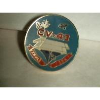 USS Coral Sea Lapel Pin - OOP