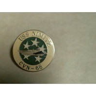 USS Nimitz Seal Lapel Pin - OOP