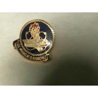 USS Franklin D. Roosevelt Crest Lapel Pin