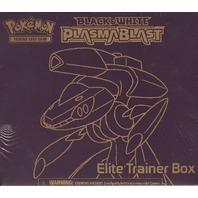 Pokemon Black & White (B&W) Plasma Blast Elite Trainer Box (Sealed)