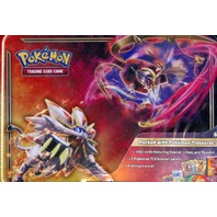 Pokemon TCG 2017 Collector Chest Tin Lunchbox + 2 Random Booster Packs (Sealed)