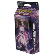 Pokemon TCG XY Evolutions Theme Deck: Mewtwo Mayhem (Sealed) + 2 Booster Packs
