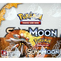 Pokemon TCG Sun & Moon Sealed Booster 36 Pack Box (English Trading Card Game)
