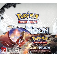 Pokemon TCG XY Sun & Moon Burning Shadows Booster 6 Box Case (Sealed/English)
