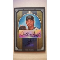 Dewon Brazelton 2005 Diamond Kings Signature Framed Blue #224 /50 Autograph Auto