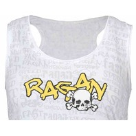 DAVID RAGAN #6 Speed Tank Top Women's Shirt UPS NASCAR ROUSH FENWAY
