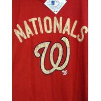 MLB Genuine Washington Nationals Ring Spun Soft Red T-Shirt Size 2XL NWT