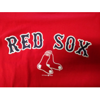 Gear For Sports Boston Red Sox Red Graphic T-Shirt Size S Small MLB Baseball