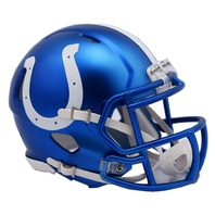 INDIANAPOLIS COLTS 2017 Riddell NFL Blaze Alternate Speed Mini Football Helmet