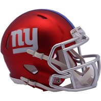 NEW YORK GIANTS 2017 Riddell NFL Blaze Alternate Speed Mini Football Helmet