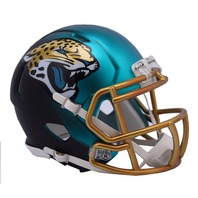 JACKSONVILLE JAGUARS 2017 Riddell NFL Blaze Alternate Speed Mini Football Helmet