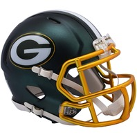 GREEN BAY PACKERS 2017 Riddell NFL Blaze Alternate Speed Mini Football Helmet