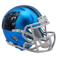 CAROLINA PANTHERS 2017 Riddell NFL Blaze Alternate Speed Mini Football Helmet