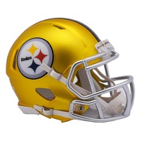 PITTSBURGH STEELERS 2017 Riddell NFL Blaze Alternate Speed Mini Football Helmet