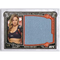 RONDA ROUSEY 2016 Topps Knockout UFC 157 MMA 2/8 Jumbo Mat Relic Card