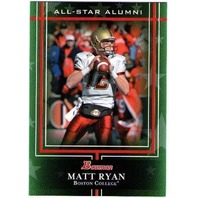 Football 2009 /09 Bowman All-Star Alumni Complete Set #1-10 Cards Matt Ryan
