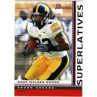 Football 2009 Bowman Superlatives Complete Set #1-10 Cards