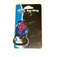 Philadelphia Phillies Bottle Opener Key Chain Officially MLB Licensed