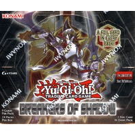 Yugioh Breakers of Shadow 1st Edition Booster Box (Sealed)