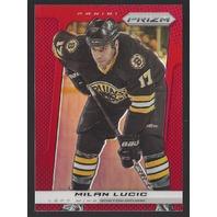 Milan Lucic Boston Bruins 2013-14 Panini Prizm #6 Red Refractor