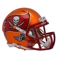 TAMPA BAY BUCCANEERS 2017 Riddell NFL Blaze Alternate Speed Mini Football Helmet