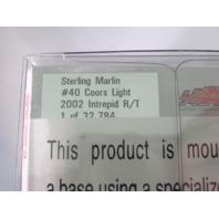 Sterling Marlin 1:64 Die Cast #40 Coors Light Car 2002 In Bottle & 2001 In Can