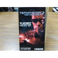 2003 Terminator 3 Filmcardz Preview Set 5 Card Box /1008 New (Random) Film Cells