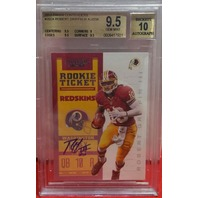 ROBERT GRIFFIN III 2012 Panini Contenders Rookie Ticket Auto BGS 9.5 Gem MT Auto 10