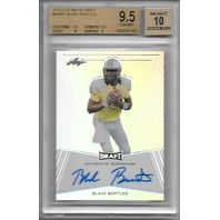 BLAKE BORTLES 2014 Leaf Metal Draft RC Auto BGS 9.5 Gem MT Auto 10